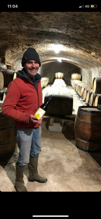 Trotse wijnmaker